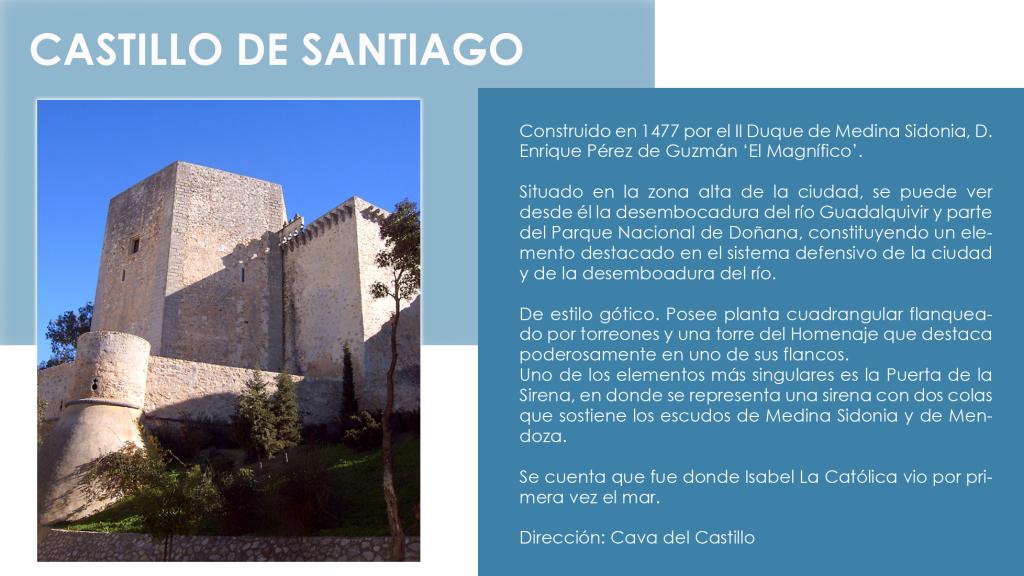 MONUMENTOS CASTILLO DE SANTIAGO copia