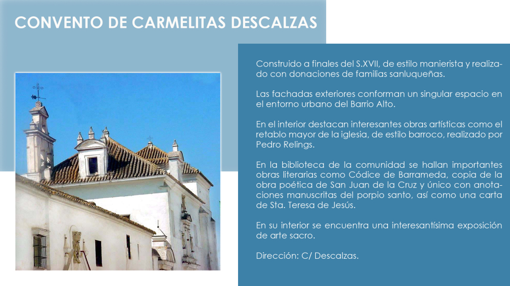 MONUMENTOS CONVENTO DE CARMELITAS copia